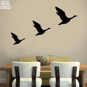Flying Geese stencil set