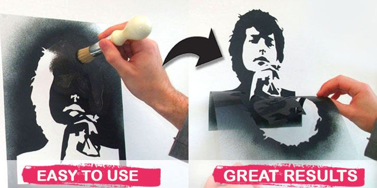 Freddy Mercury Stencil