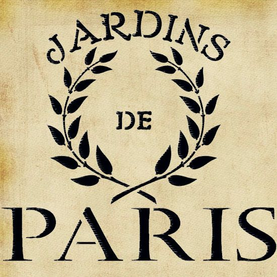 French style Jardins de Paris