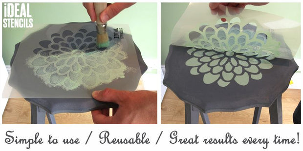 French style shabby chic stencil