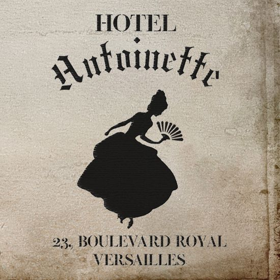 Hotel Antoinette French style stencil