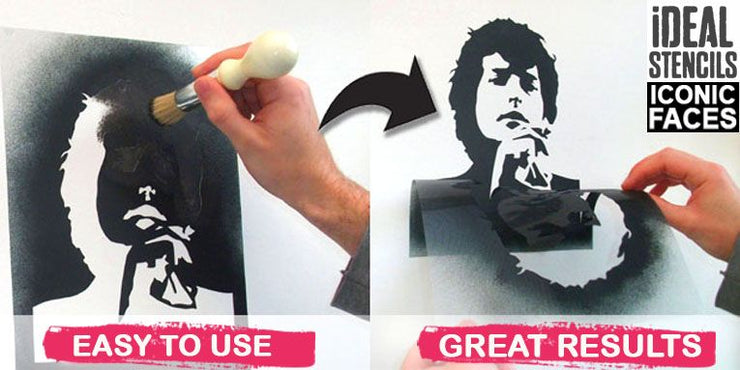 Keith Richards The Stones Stencil