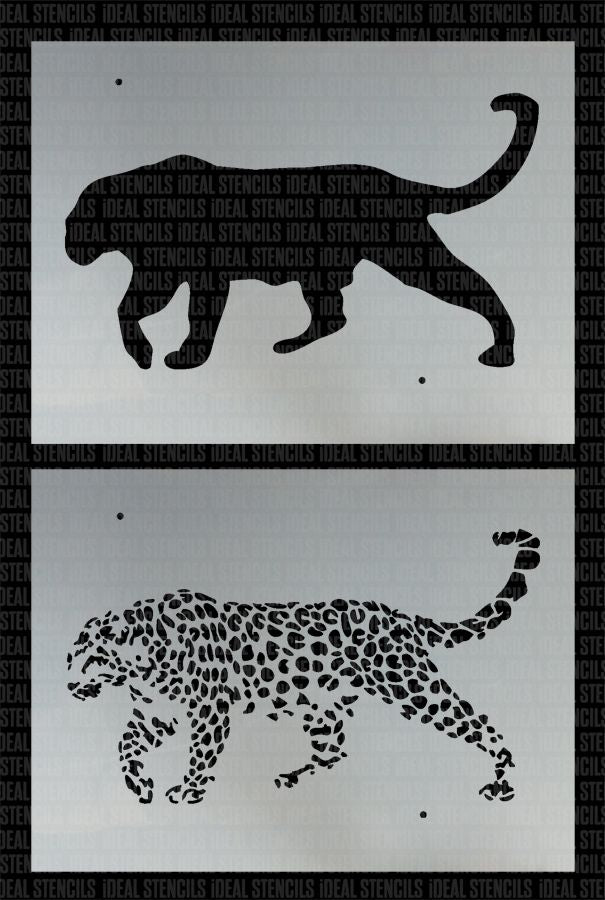 Leopard Multilayer Stencil