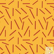 Memphis  Design Style Wall Pattern Stencil