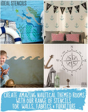 Nautical Motif Stencil Set