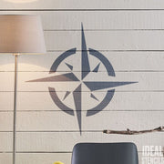 Nautical Star Symbol Stencil