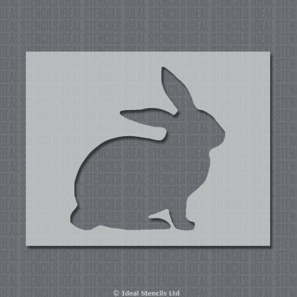 Rabbit Shape Stencil