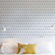 Scandi Triangles Home Decor Stencil