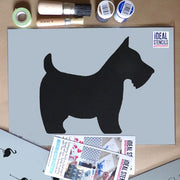 Scottie Dog Stencil