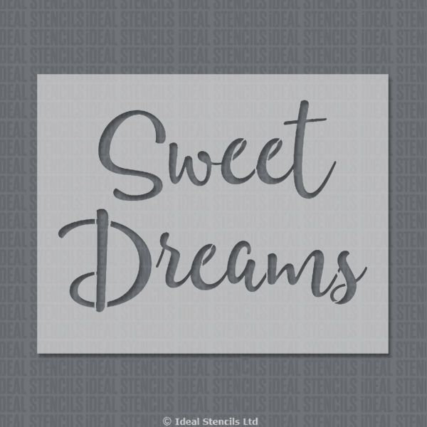 Sweet Dreams Nursery Stencil