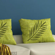 Tropical Fern Leaf Stencil