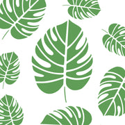 Tropical Leaf Stencil