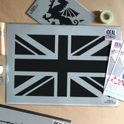 Union Jack Reusable Stencil