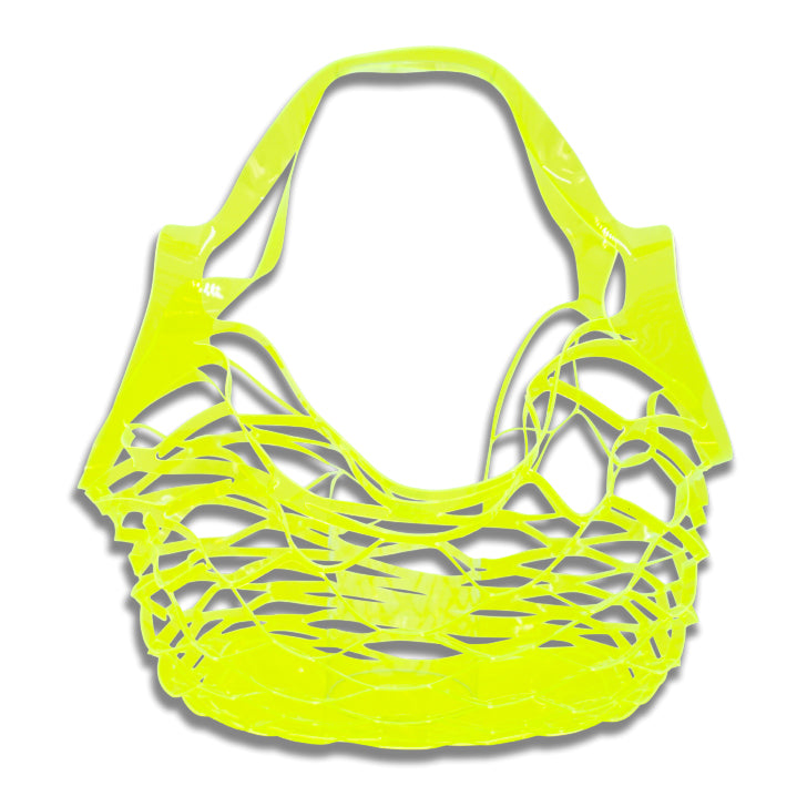BEACH PVC BAG - neon yellow Milk x Soda - HOWTOKiSSAFROG