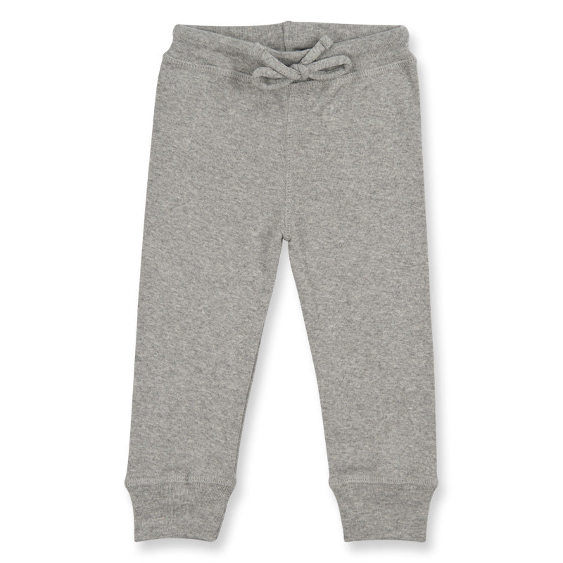 BABY LEGGINGS- grey melange