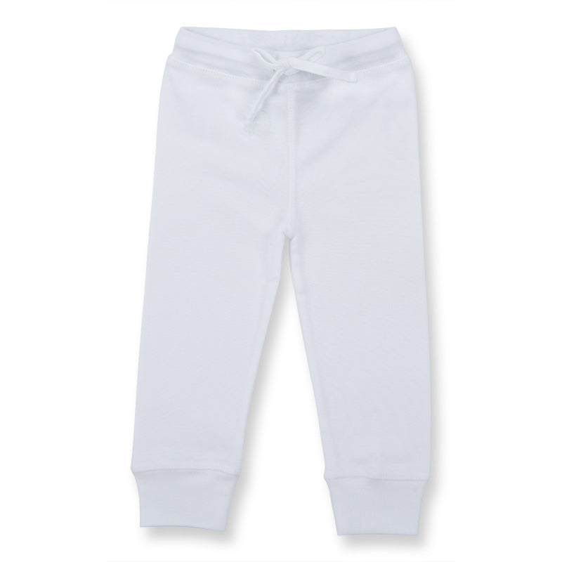 BABY LEGGINGS- white