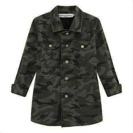 ARMY JACKET - camo green - HOWTOKiSSAFROG