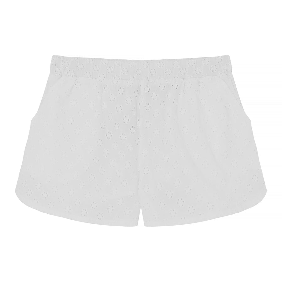 BLOOMY SHORTS - white lace - HOWTOKiSSAFROG
