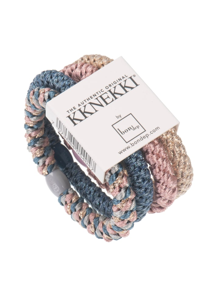 Knekki bundle hairties - skyblue/powder - HOWTOKiSSAFROG