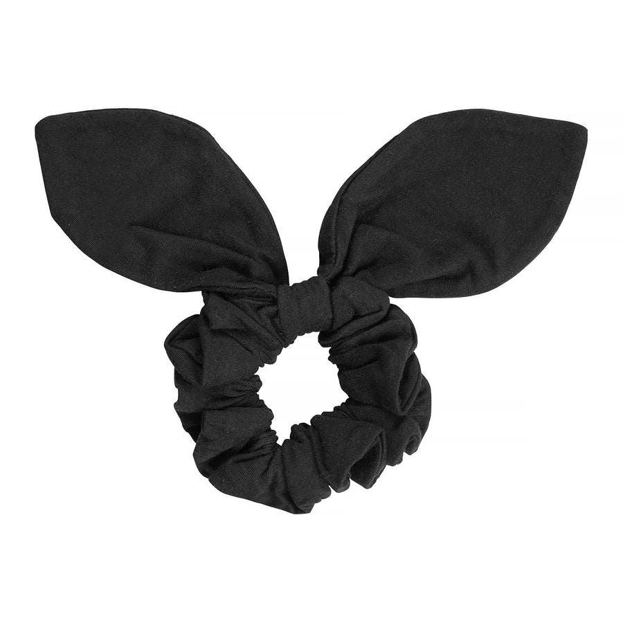 SCRUNCHIE - washed black - HOWTOKiSSAFROG