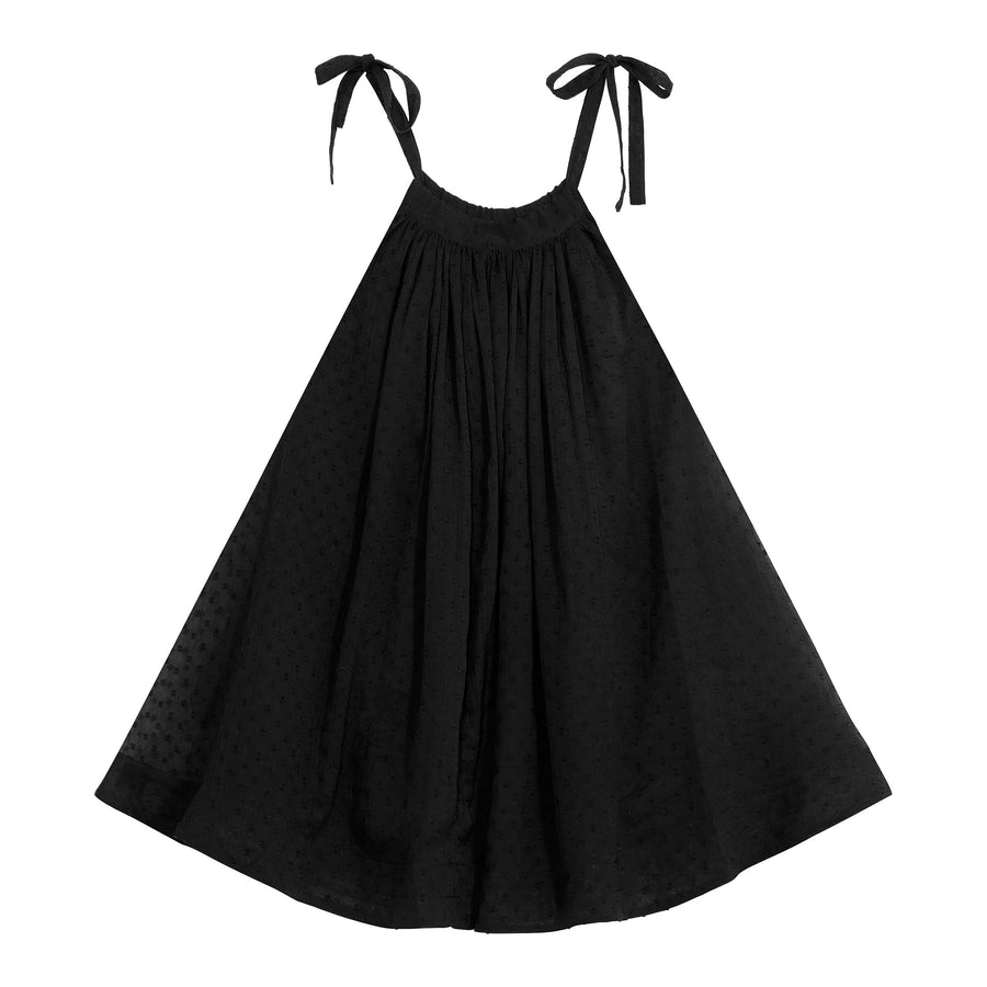 TONI dress - black dot