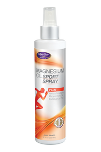 Magnesium Oil Sport Spray 8 oz by Life-flo