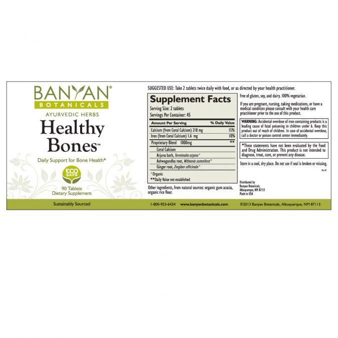 Banyan Botanicals Healthy Bones – 90 Tablets