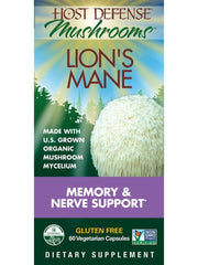 Host Defense Mushrooms Lion's Mane  60 Vegetarian Capsules