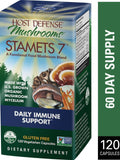 Host Defense Mushrooms Stamets 7  120 Vegetarian Capsules