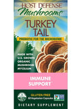 Host Defense Mushrooms Turkey Tail  60 Vegetarian Capsules