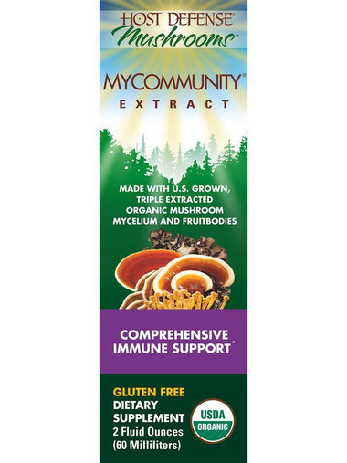 Host Defense Mushrooms MyCommunity Extract  2 fl oz.