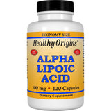Healthy Origins Alpha Lipoic Acid, 100mg 120 Capsules
