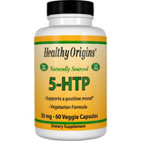Healthy Origins 5-HTP, 50mg 60 Veg Capsules