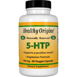 Healthy Origins 5-HTP, 100mg 60 Veg Capsules