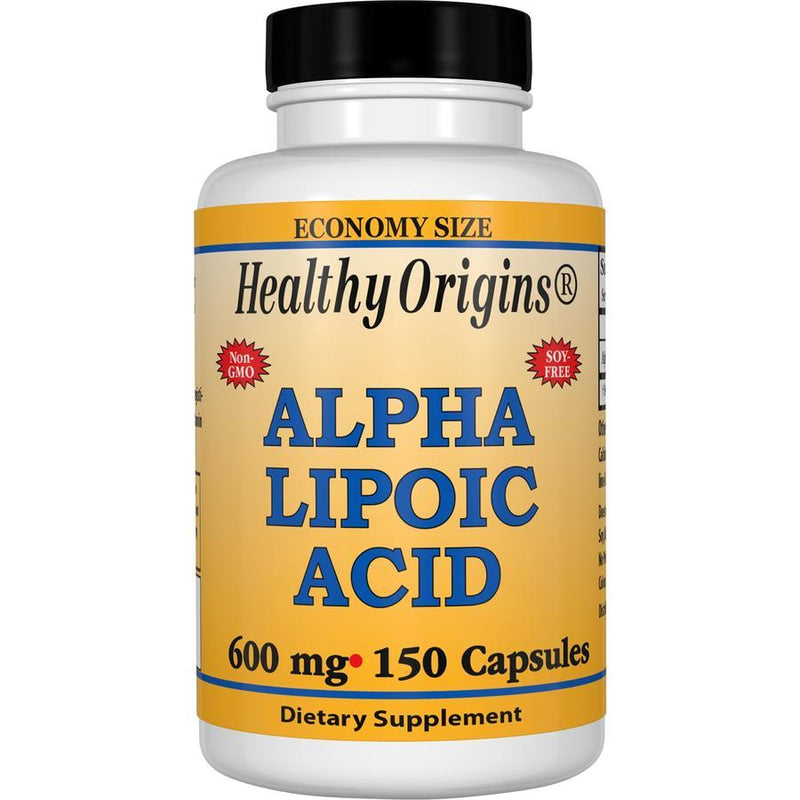 Healthy Origins Alpha Lipoic Acid, 600mg 150 Capsules