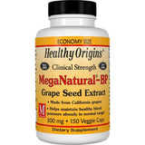 Healthy Origins MegaNatural-BP - Grape Seed Extract 300 mg, 60 Veg capsules