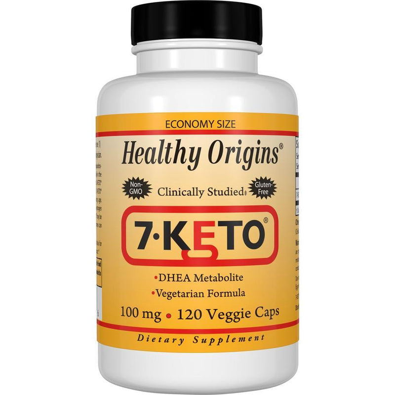 Healthy Origins 7-Keto, 100mg 120 Veg Capsules