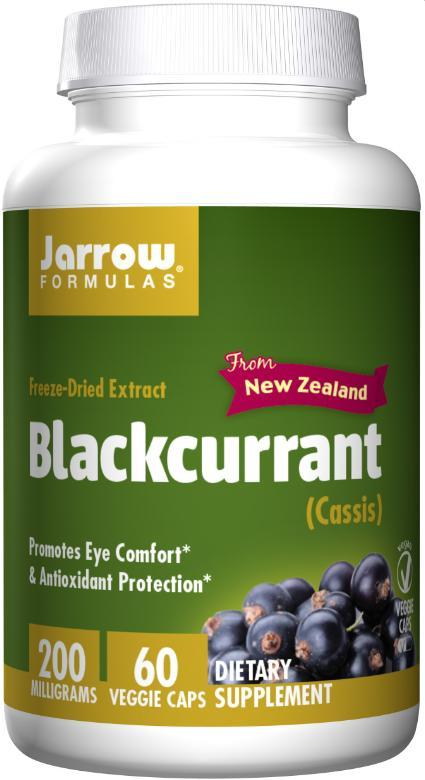 Jarrow Formulas Blackcurrant, 200 mg – 60 Veg Caps