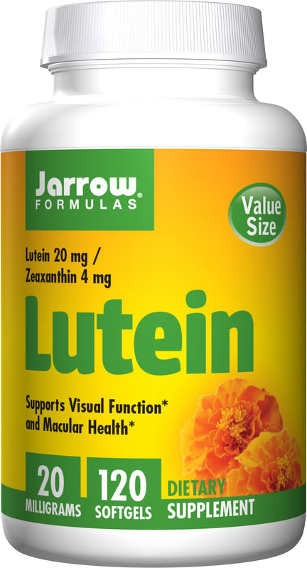 Jarrow Formulas Lutein, 20mg – 120 Softgels