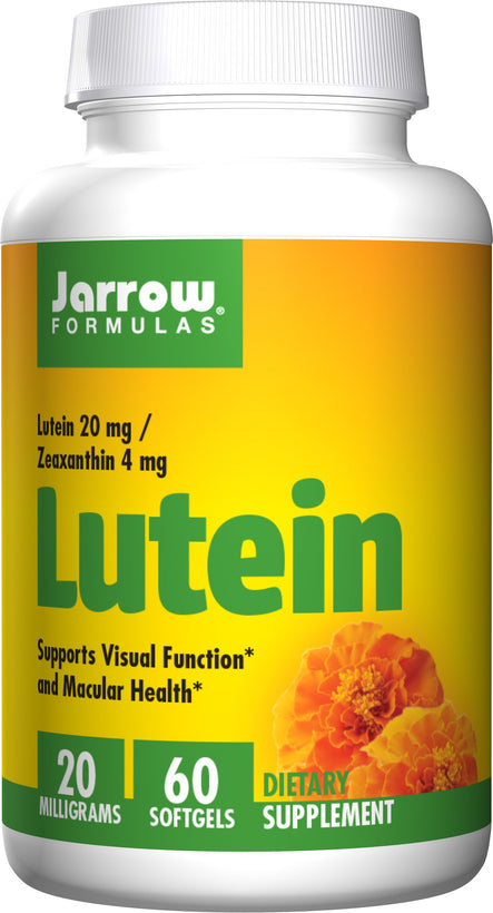 Jarrow Formulas Lutein, 20mg – 60 Softgels