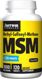 Jarrow Formulas MSM, 1000mg – 120 Tablets
