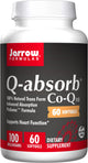 Jarrow Formulas Q-absorb CoQ10, 100mg – 60 Softgels