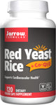 Jarrow Formulas Red Yeast Rice + CoQ10 – 120 Veg Capsules