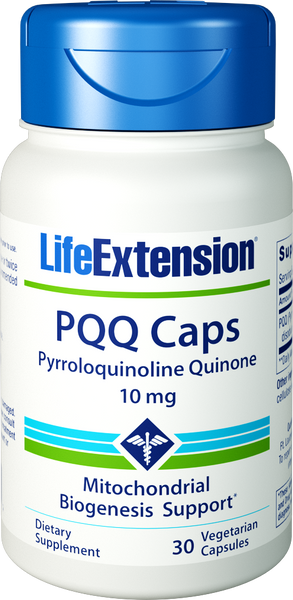 Life Extension PQQ Caps, 10 mg 30 Veg Capsules