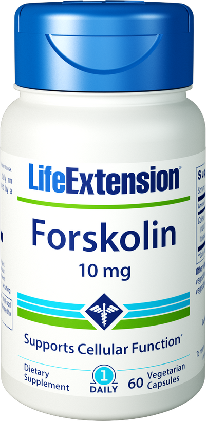Life Extension Forskolin, 10 mg 60 Veg Capsules