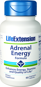 Life Extension Adrenal Energy Formula, 60 Vegetarian Capsules