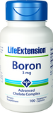 Life Extension Boron, 3 mg 100 Veg Caps