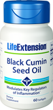 Life Extension Black Cumin Seed Oil 60 Softgels