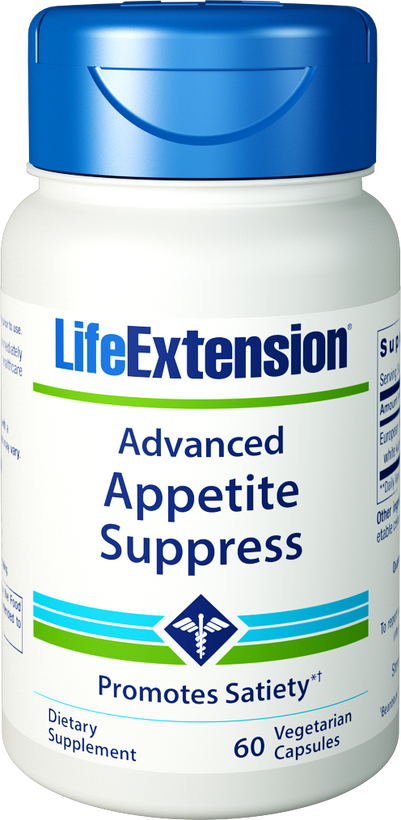 Life Extension Advanded Appetite Suppress, 60 Vegetarian Capsules