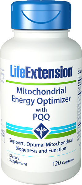 Life Extension Mitochondrial Energy Optimizer with PQQ 120 Capsules